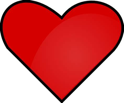 Red Heart Clip Art At Clker.com