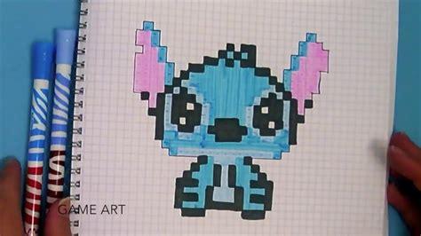 Stitch En Pixel Art !