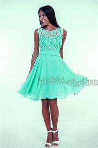 mint bridesmaid dress lace wedding bridesmaids mint lace With green cocktail dress for wedding