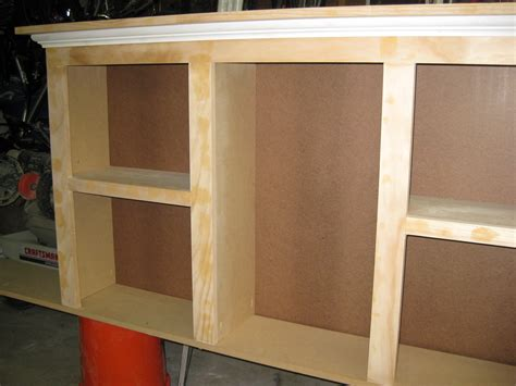 bookcase headboard building plans