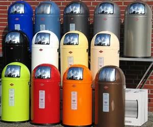 Wesco Mülleimer 50 L : wesco pushboy 50 liter m lleimer abfallsammler in vielen farben vorr tig ~ Frokenaadalensverden.com Haus und Dekorationen