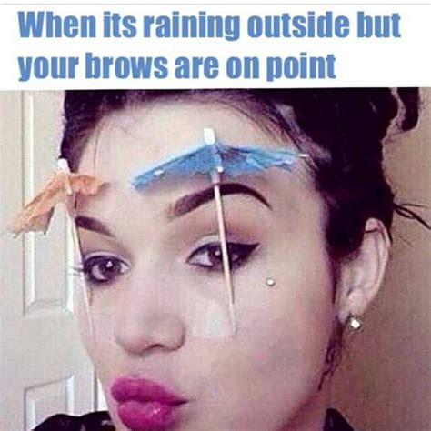Eyebrow Memes - funny eyebrow quotes quotesgram