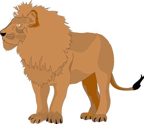 lion  clip art  clkercom vector clip art