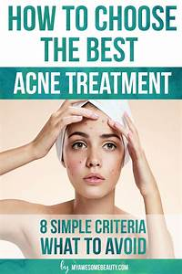 Best Acne Treatment Comparison Chart and Complete Guide