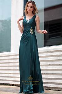Dark Green Evening Dress Mother Of The Bride Dresses For