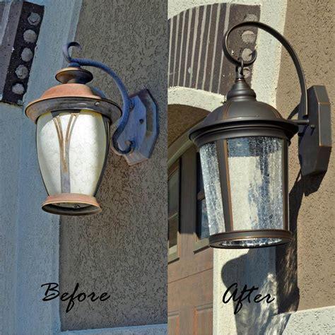 replace  light fixture outdoor tutorial