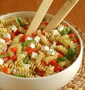 Salade Originale Pour Barbecue : salade de torti au ch vre frais tomates et basilic les ~ Melissatoandfro.com Idées de Décoration
