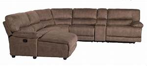 Flexsteel latitudes delia six piece power reclining for Flexsteel sectional sofa with chaise
