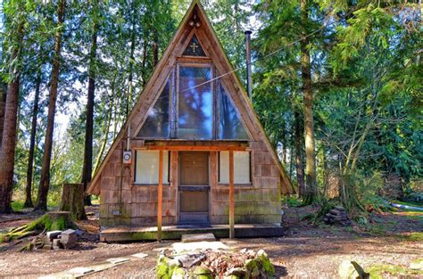 small a frame cabin a frame tiny house swoon