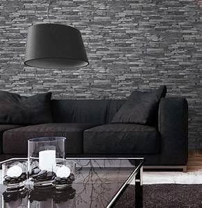 Wohnzimmergestaltung Mit Tapeten : skifer grau ~ Sanjose-hotels-ca.com Haus und Dekorationen