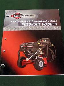 Briggs  U0026 Stratton Products Pressurewasher Dealer Service
