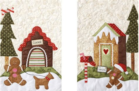 quilt company gingerbread village  pattern pack thqgv