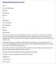 Follow Up Letter Sle For Payment by Sle Letter Of Pending Payment 49 Images Pending