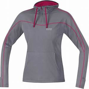 GORE Running Wear Essential Hoody Lady Shirt - asteroid ...