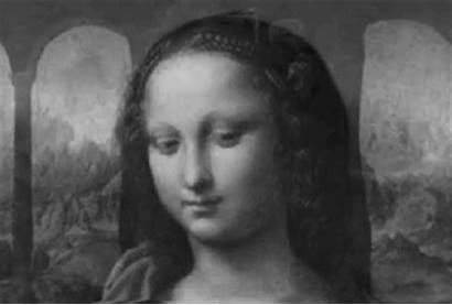 Gifs Chidos Mona Lisa