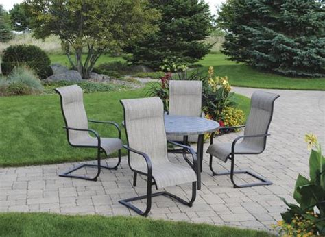Backyard Patio Set by Backyard Creations 174 Collins Collection 5 Dining