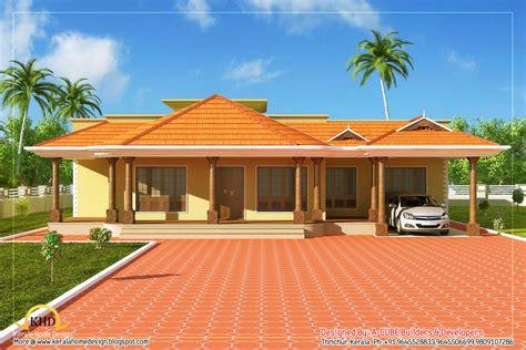 Home Design 1 Floor : Kerala Style Single Floor House