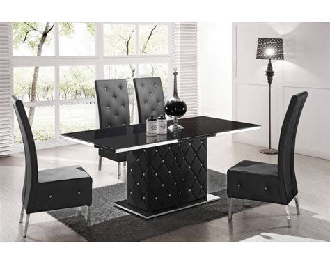 chaise salle a manger noir table chaise salle a manger design noel 2017