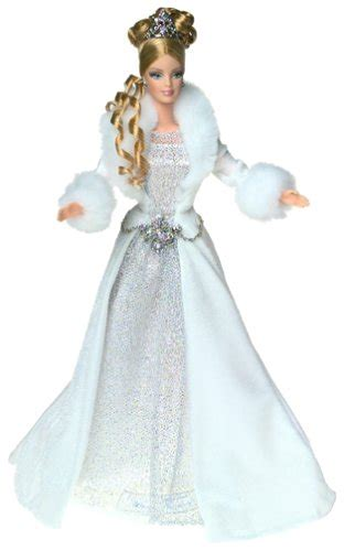 barbie  winter fantasy holiday vision blonde