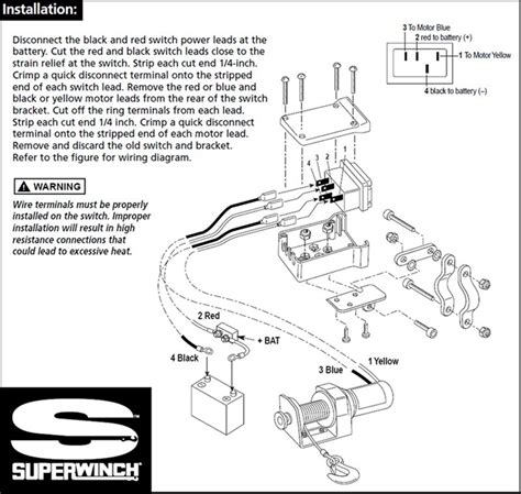 Replacement Switch For Older Superwinch Electric