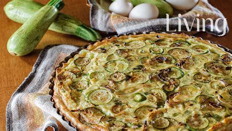 Tartë e kripur me kunguj dhe vezë - Pjata kryesore