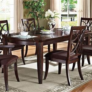 Acme Furniture Keenan Formal Transitional Dining Table