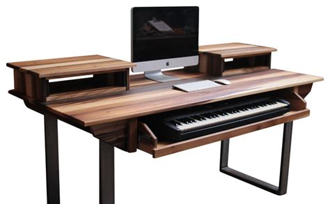 music studio desk workstation http www houzz com photos 17335500 studio desk for audio