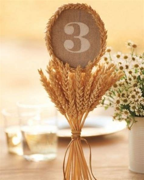 personalized tree skirt ideas picture of wheat decor ideas for a rustic country wedding 4