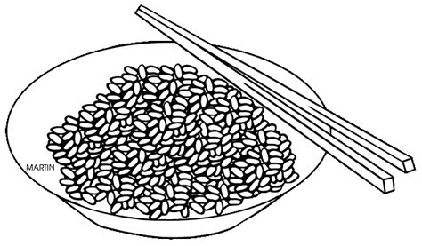 rice grain colouring pages sketch coloring page