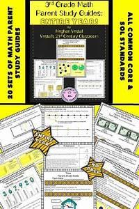 3rd Grade Math Parent Study Guides Bundle