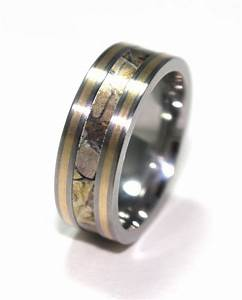 wedding bands mens wedding bands titanium With mens camo wedding rings