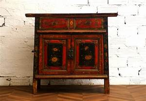 Commode Chinoise Buffet Chinois Meuble Chinois Mobilier