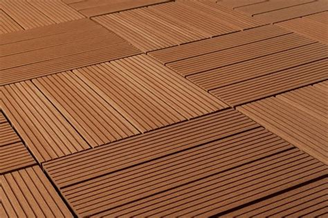 Kontiki Interlocking Deck Tiles Hardwood Series by Kontiki Composite Interlocking Deck Tiles Basics Series