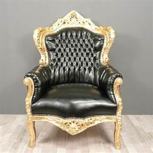 Canapé Baroque Pas Cher : fauteuil baroque ~ Teatrodelosmanantiales.com Idées de Décoration