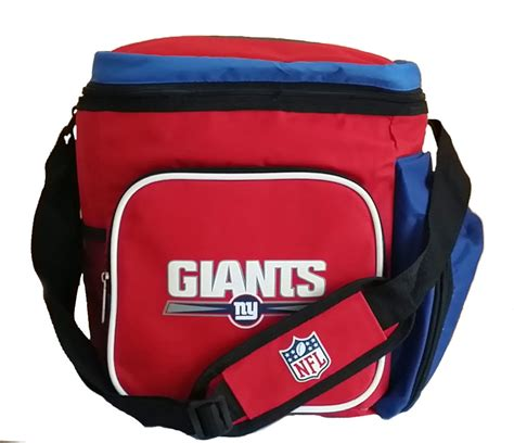gifts for new york giants fans new york giants cooler 18 pack soft sided ice chest