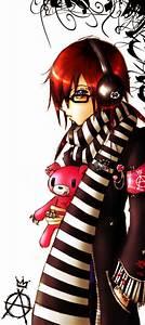 Anime Rocker Guy by iCatValentine on DeviantArt