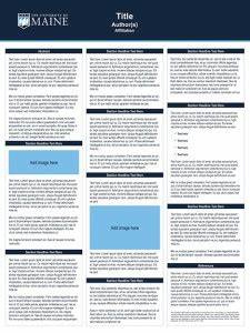 Bookmark Template Download Poster Branding Toolbox University Of Maine