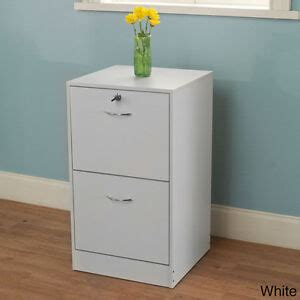White Wooden File Cabinets by New White 2 Drawer Filing Cabinet Wood File Cabinet Drawer