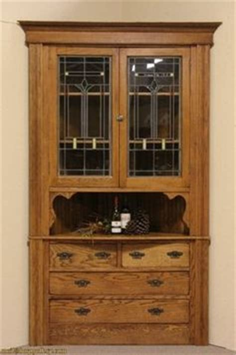 vintage corner cabinet 1000 images about stained glass cabinet doors on 3179