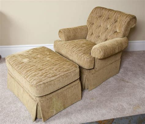 upholstered chair with ottoman upholstered arm chair with ottoman