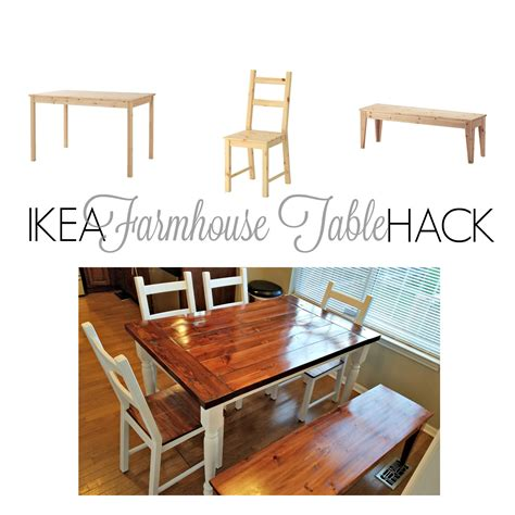 ikea hack from ingo to farmhouse table