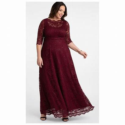 Lace Leona Gown Evening Sleeve Formal Maxi