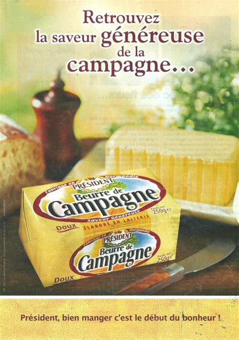 beurre de cuisine didier beurre publicité président n 6