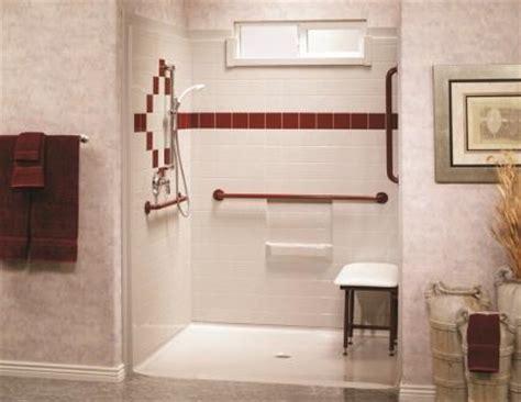 handicap walk in shower handicap showers walk in shower kits universal design