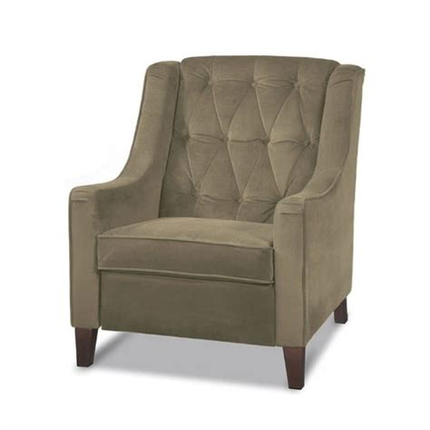 cruves tufted back accent chair in beige cvs51 c27