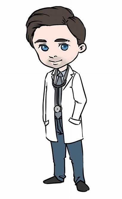 Clipart Doctors Doctor Cartoon Cliparts Clip Uniform