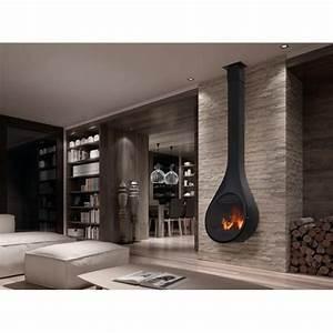 Poele A Granule Design : rocal drop po le bois suspendu design dcharby ~ Dailycaller-alerts.com Idées de Décoration