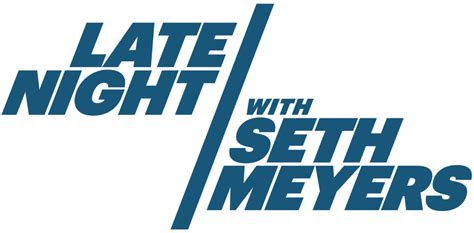 late night  seth meyers wikipedia