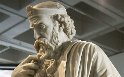 rare king saul statue rescued  uk school covered