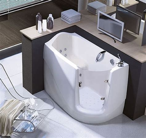 walk in bathtubs sit and relax walk in compact bath tubs by treesse